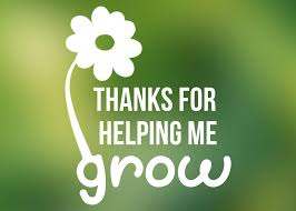 Thanks For Helping Me Grow Vinyl Decal Teacher Gift Mom Gift Yeti Decal Yeti Decal For Women Car Window Decal Oza Vinyl Decals Vinyl Gifts Teacher Gifts