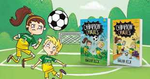 Kick it to Me! Review The Champion Charlies Series by Adrian Beck | Better  Reading