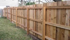 Wood Fence Austin Tx Privacy Fencing Company Cedar Pine Sierra Fence Inc