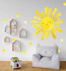 Sun Wall Decal Stickersforlife