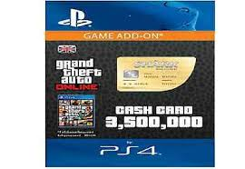 gta v 5 whale shark cash card 3 500