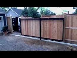 Fence Gates How To Build A Wood Gate Fence