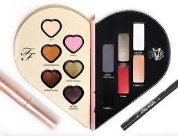 makeup palettes too faced x kat von