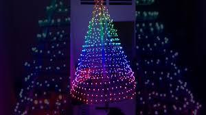 Cây thông Noel đèn Led full màu 2016 - YouTube