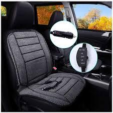 tuhfg heated car seat cushion velour