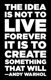 happy bday andy warhol visuals art quotes artist quotes