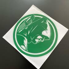 Green Vinyl Arrow Decal Sticker Approx Depop