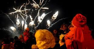 bonfire night 2017 fireworks in