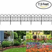 Decorative Metal Garden Fence Landscape Flower Bed Barrier Picket Edge Iron Wire 768390323610 Ebay