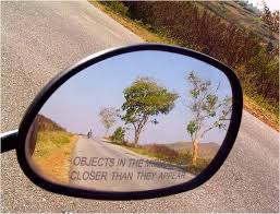mirror are closer than they appear