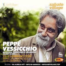 Peppe Vessicchio 22-23 Febbraio 2020 | Accademia Artistica ArtVillage
