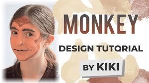 monkey face paint tutorial you