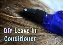 diy leave in conditioner a very simple