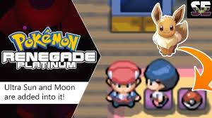 https://youtu.be/mymRCK5A1Qc NEW NDS Rom 2018 with Ultra Sun and Moon stats  is added into Pokemon Renegade Platinum