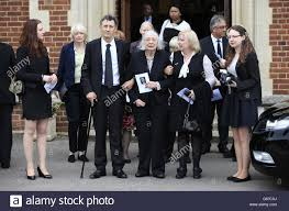 Stephen Lewis funeral Stock Photo - Alamy