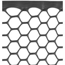 Tenax 3 Ft X 25 Ft Black Poultry Hex Fence 72120546 The Home Depot