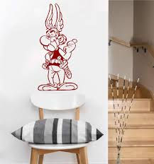 Amazon Com Asterix Classic Uk Wall Decal Dark Red Home Kitchen