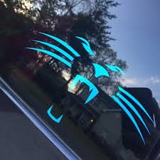 Cardiac Cats Carolina Panthers Football Car Window Sticker Etsy