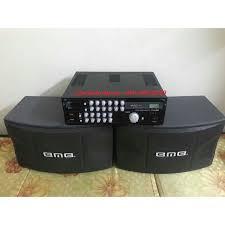 Bộ dàn Karaoke - Nghe nhạc Gia đình Gồm Âm ly PA600A + Đôi loa BMB 450 +  Micro