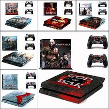Qoo10 God Of War Vinyl Cover Decal For Ps4 Skin Sticker For Sony Playstation Computer Game