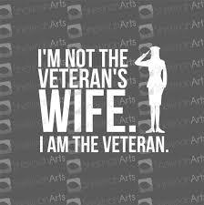 I Am The Veteran Decal I M Not The Veteran S Etsy