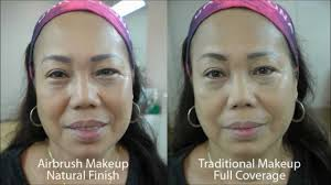 airbrush vs traditional makeup you