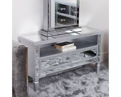 traditional mirrored tv cabinet