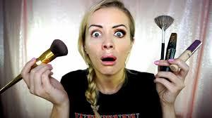 half face makeup challenge saubhaya