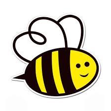 Cute Honey Bee Vinyl Sticker Waterproof Decal Sticker 5 Walmart Com Walmart Com