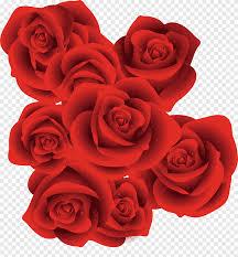 ملصق الحب روز القلب وردة حمراء الزخرفية Love Floribunda Png