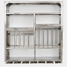 silver wall mount plate rack rs 14000