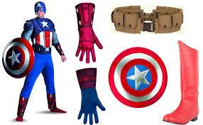 captain america costume carbon