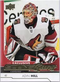 Future Watch: Adin Hill Rookie Hockey Cards, Coyotes – Go GTS