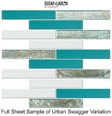 susan jablon mosaics tiles 1x6 inch