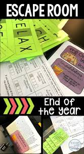 End Of The Year Escape Room Drawing Games For Kids Escape Room Puzzle Games For Kids