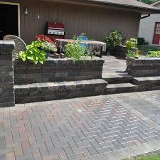 to install brick patio