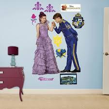 Disney S Descendants Mal Chad Charming Wall Decals By Fathead Disney Descendants Disney Descendants Mal Disney Descendants Costume