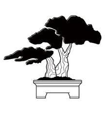 Bonsai Tree Wall Decal Wall Decal Sticker Mural Vinyl Art Home Decor 1236 Orange 24in X 20in Walmart Com Walmart Com