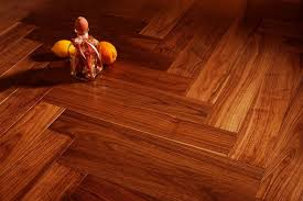 lacquered or oiled wood flooring here