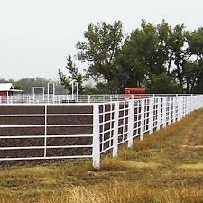 Linn Post And Pipe Continuous Fencing Pens Chutes Feeders