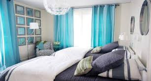 Simple Navy And Turquoise Bedroom Placement Little Big Adventure