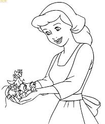 190+ Bức tranh tô màu công chúa cho bé gái tập tô phát triển tư duy