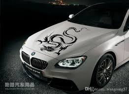 2020 Car Sticker Modified Car Stickers Bmw Hood Post Dragon Totem F0 Roof Cover Stick Machine From Wangrong57 4 53 Dhgate Com