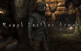 rough leather armor at skyrim nexus