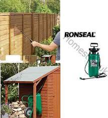 High Quality Ronseal Shed Fence Pressure Pump Sprayer Paint Gun Spray C00553 5010214860500 Ebay