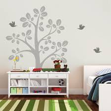 Large Tree Vinyl Wall Decals With Flying Birds Nursery Tree Wall Sticker Baby Bedroom Wall Art Mural Decor Tree Vinyl Wall Decals Wall Decalswall Sticker Aliexpress