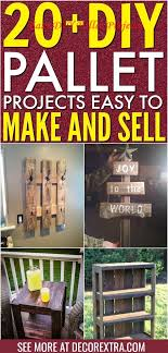 diy pallet projects ideas on a budget