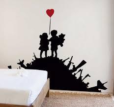 Banksy Children Wall Art Sticker Tenstickers