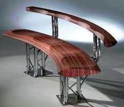 cnc routing garden bench seat