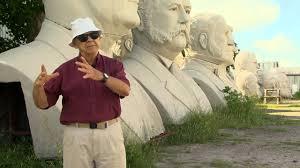 David Adickes on the Presidents Heads - YouTube